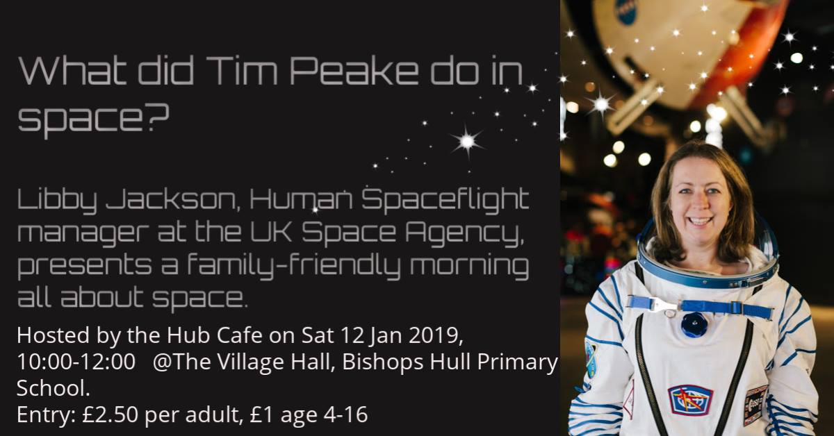 Tim Peake in space (Sold out online)