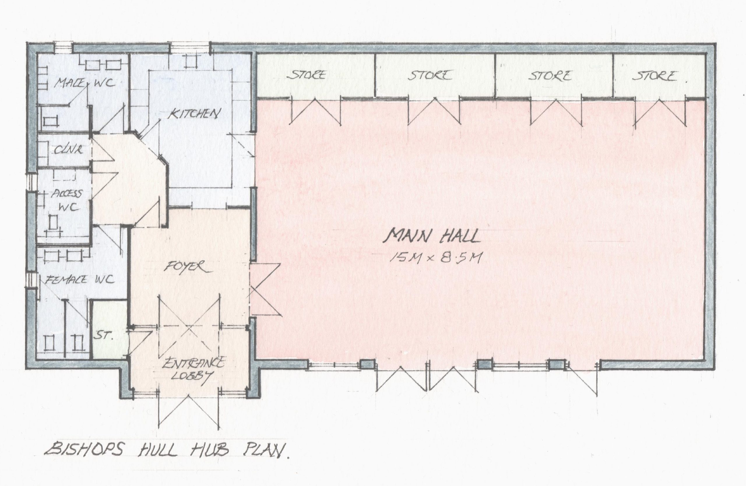 Bishops Hull Hub Plan