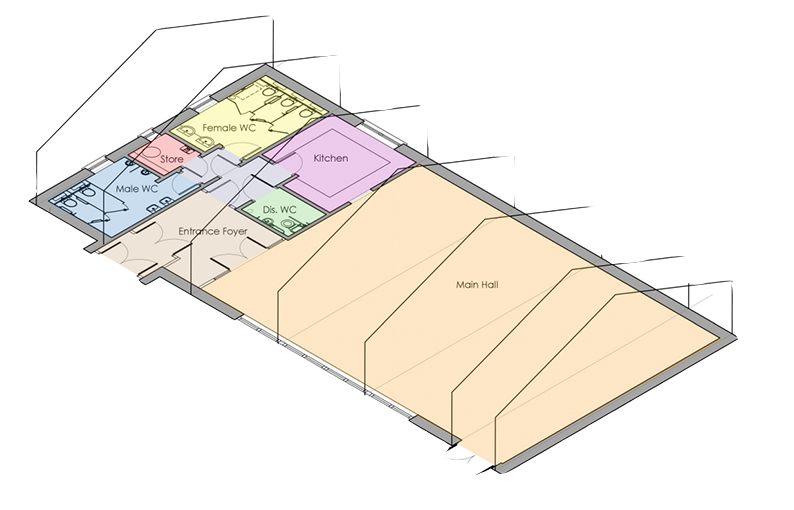 Hub Floor Plan